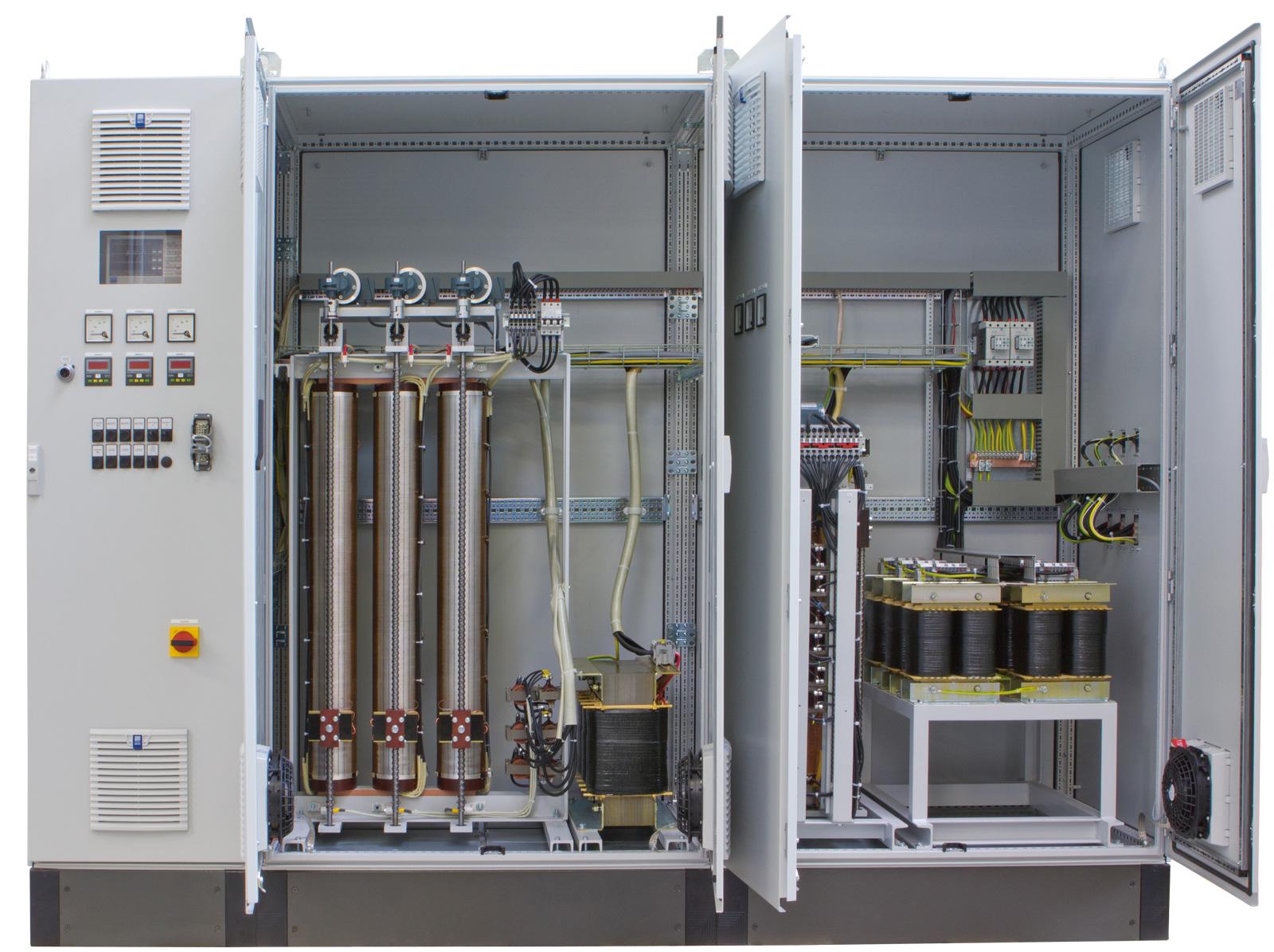 Prüfsysteme für Spannungs- Strom und Frequenzregelung